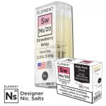 "Nikotinsalz Liquid Aspire Gusto - ELEMENT ""Sw"" Ns20 POD, 3er Pack"