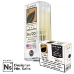 "Nikotinsalz Liquid Aspire Gusto - ELEMENT Tabak ""Honey Roasted"" Ns20 POD, 3er Pack"